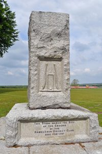 Memorial to foundiing of cricket, Hambleden