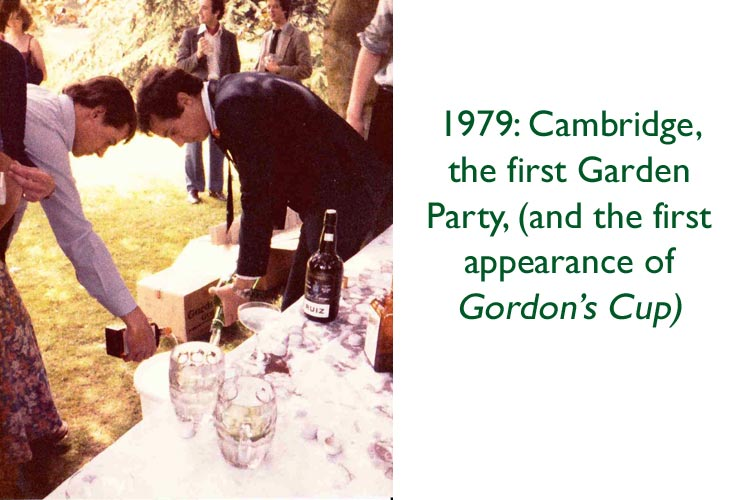 first campaign for real gin garden party, cambridge, 1979