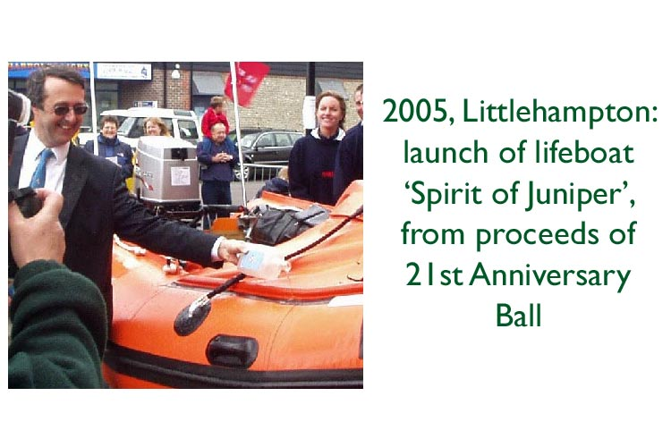 Launch of lifeboat paid for by Campaign for Real Gin