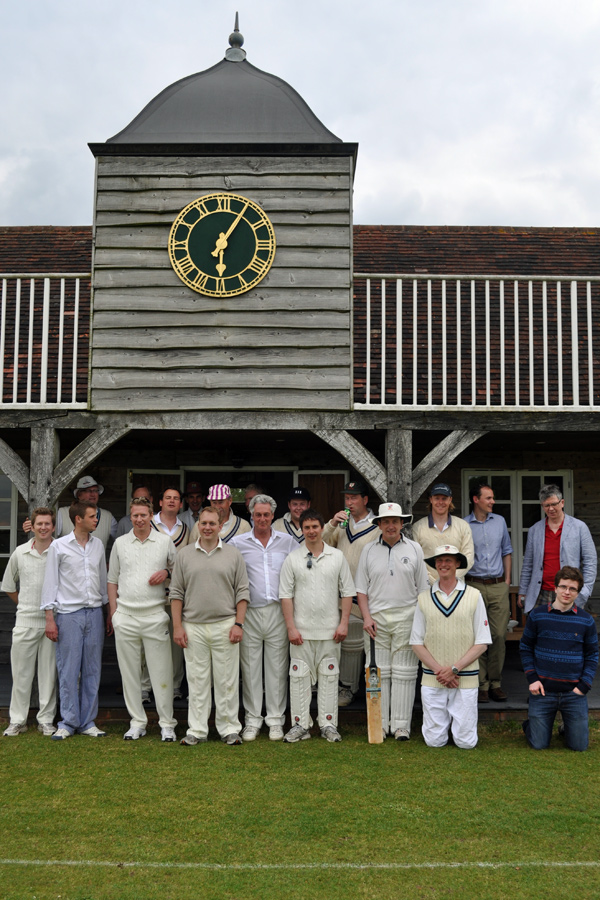 CRGCC and oppos at Broadhalfpenny Down 2013