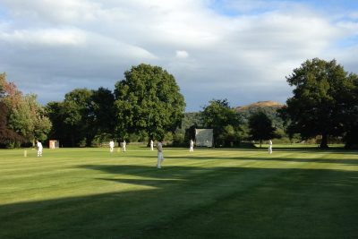 CRGCC cricket at The Elms School, Herefordshire