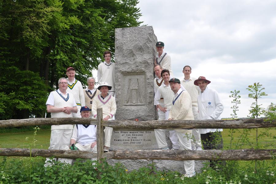 CRGCC by memorial, Hambleden CC