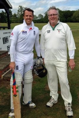 Graeme Swann and Robert Gibson, Althorp 2015