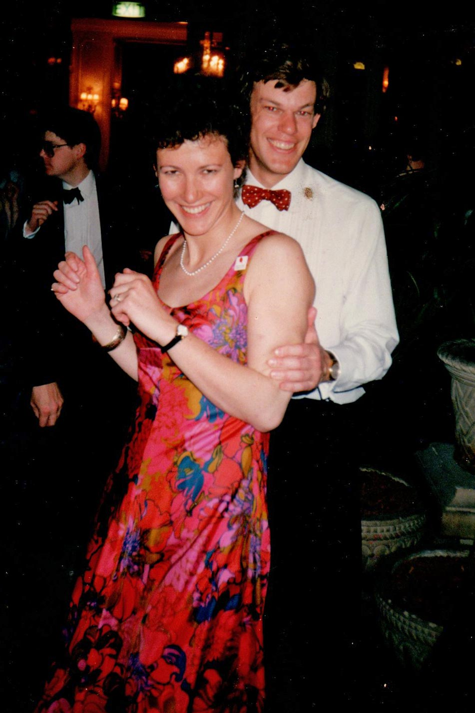Anne and Stephen Marriott at Campaign for Real Gin Juniper Ball 1988