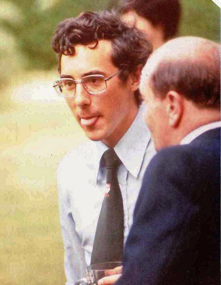 Marvin Faure at 1980 CRG Garden Party