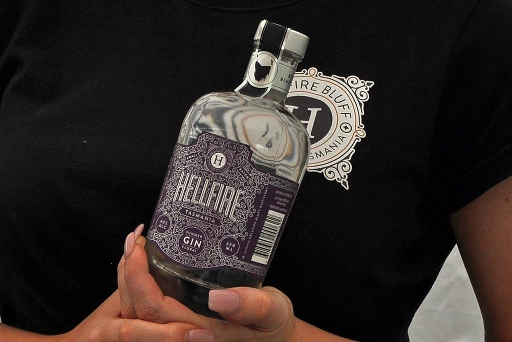 Hellfire Tasmanian gin