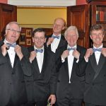 Campaign for Real Gin 40th Anniversary ties at the University Pitt Club, Cambridge
