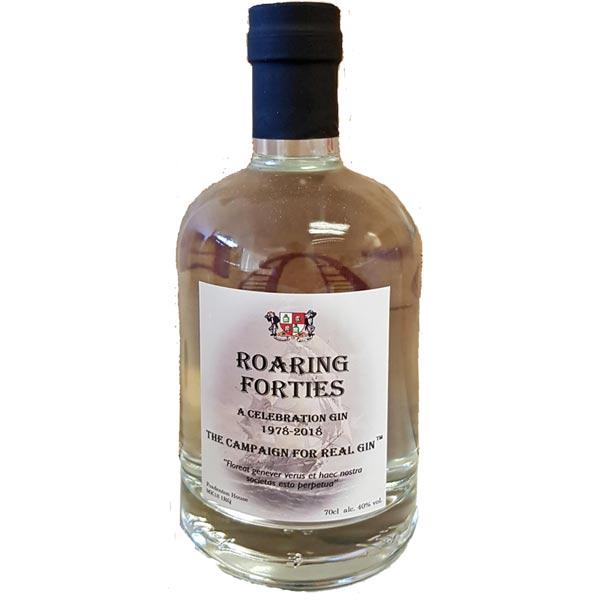 Roaring Forties gin bottle