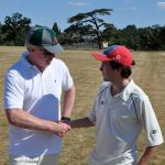 earl spencer harry wise captains handshake althorp 2018