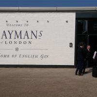 entrance, haymans gin distillery, balham, london