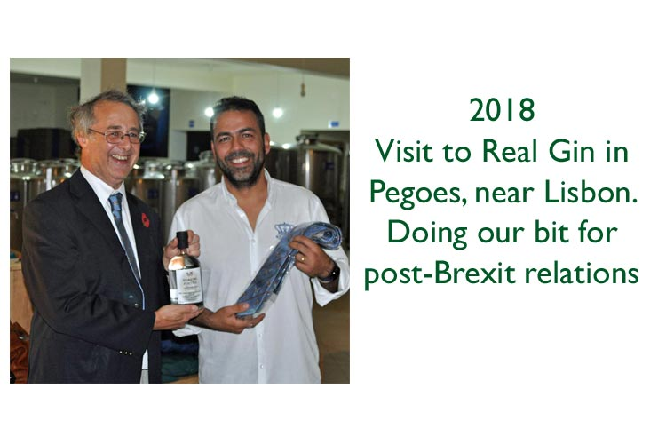 CRG landmark: visit to Real Gin distillery in Portugal
