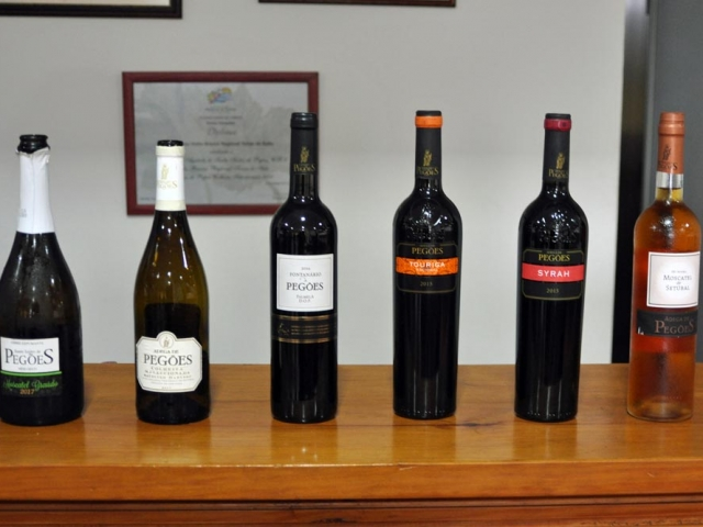Wines tasted by CRG team at Adega de Pegoes