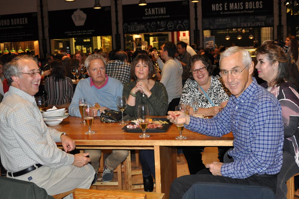 Dinner at the Time Out Market, Lisbon