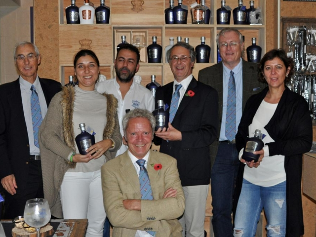 CRG and RealGin Group shot, Pegoes Portugal