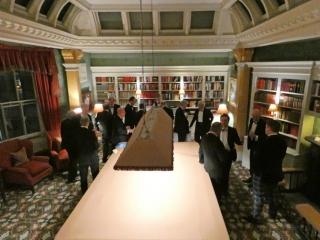 Pre-prandial drinks, CRG dinner, The Billiard Room, Boodles 2018