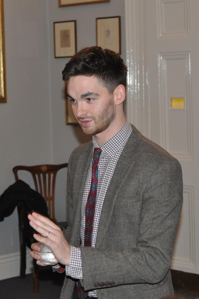 James Mowbray, Campaign for Real Gin tasting, Athenaeum Club November 2018