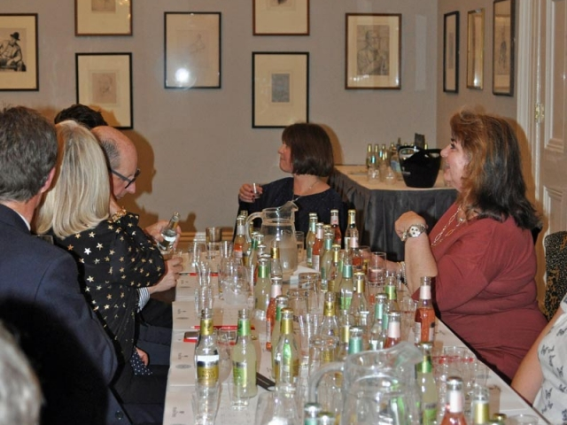 Campaign for Real Gin tasting, Athenaeum Club November 2018