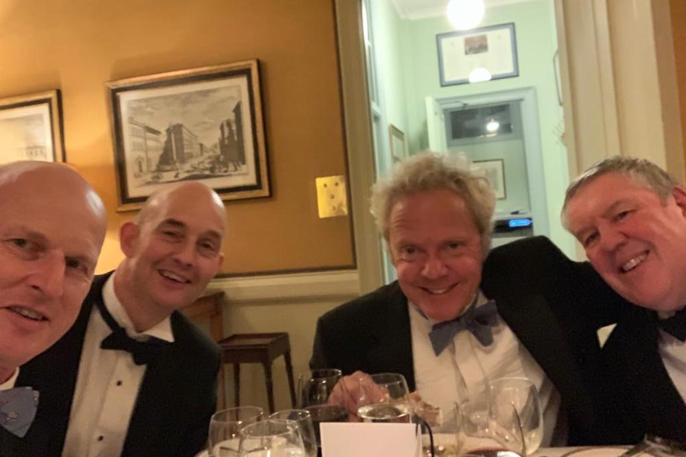 Magnus Erikssen John Jeyes Tim Smee Maertin Unsworth Campaign for Real Gin annual dinner 2018