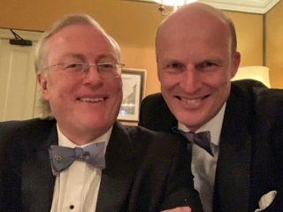 Robert Gibson and Magnus Erikssen, Campaign for Real Gin annual dinner 2018